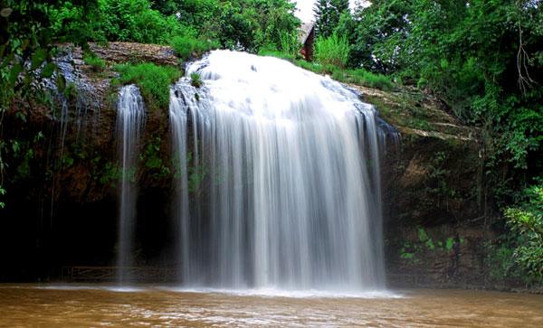 thác prenn ở Đà Lạt