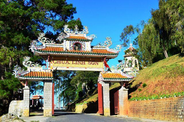Chùa Linh Sơn ở Đà Lạt
