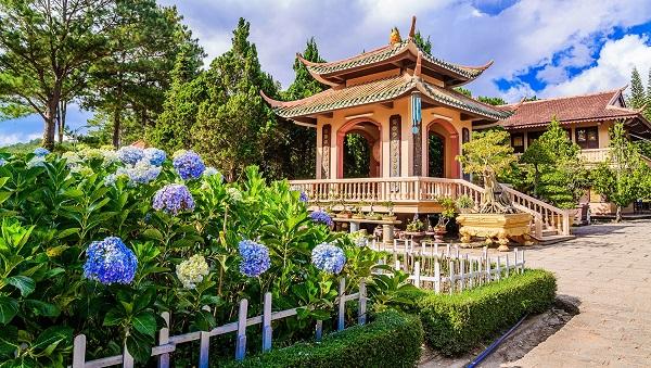 Thiền viện Trúc Lậm Tại Đà Lạt