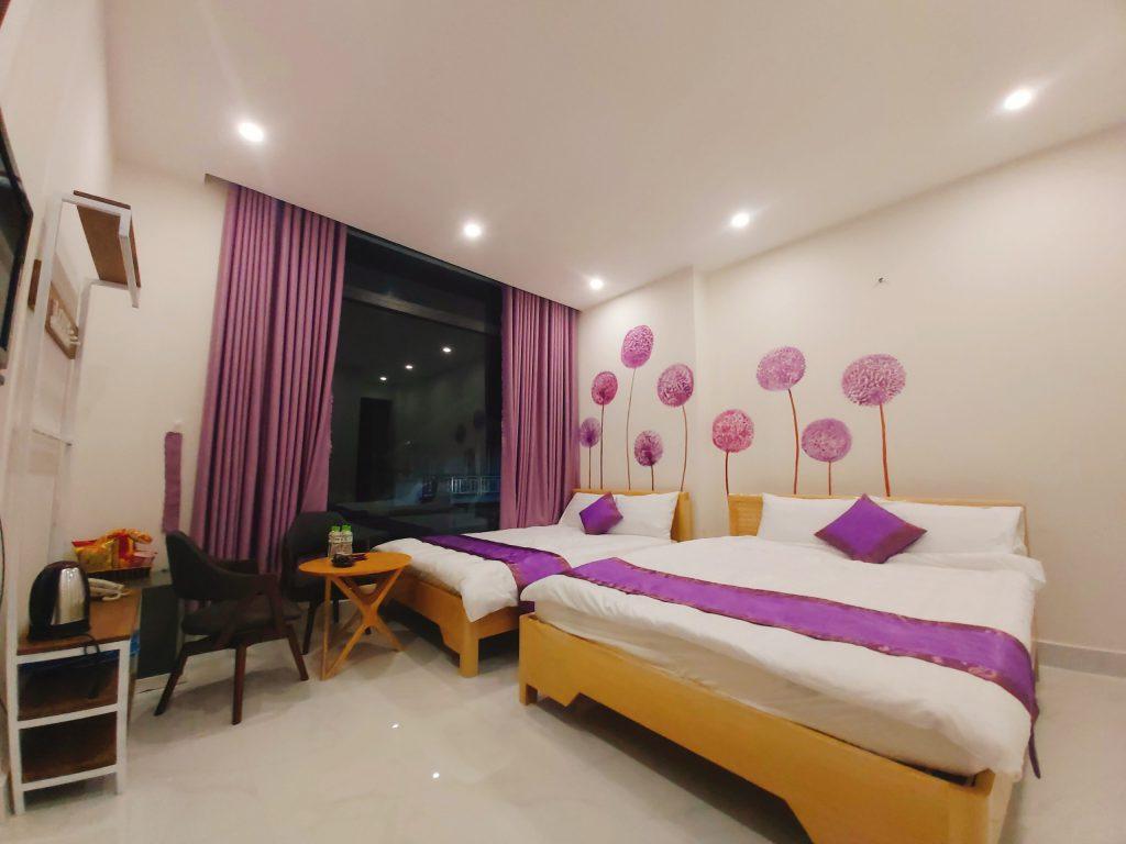 Không gian phòng ở binly hotel