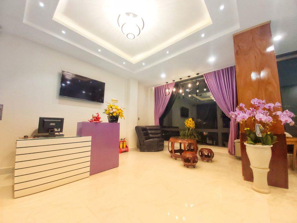 Phòng khách ở Binly hotel