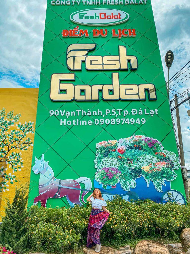 Điểm du lịch fresh garden