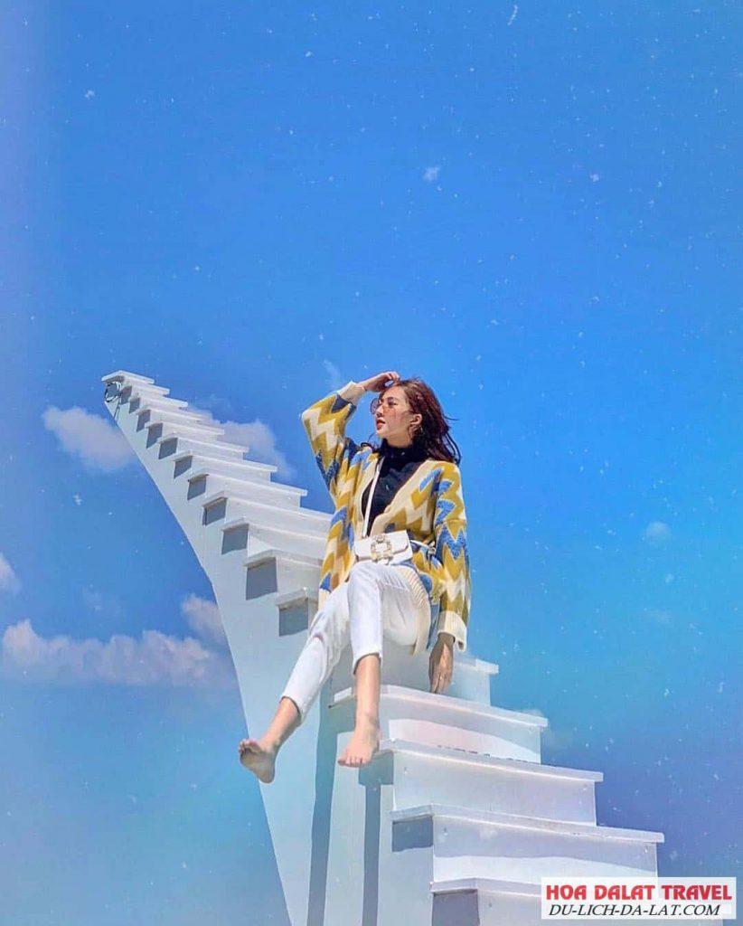 Đường đi đến nấc thang lên thiên đường Đà Lạt