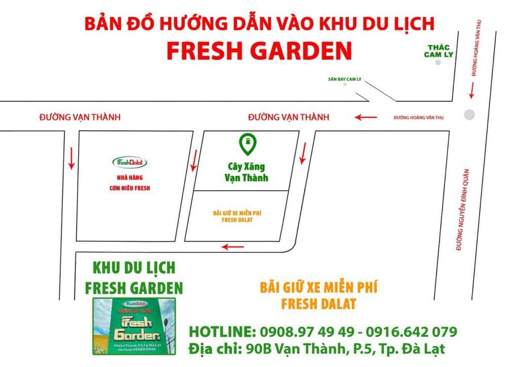 đường đi fresh garden