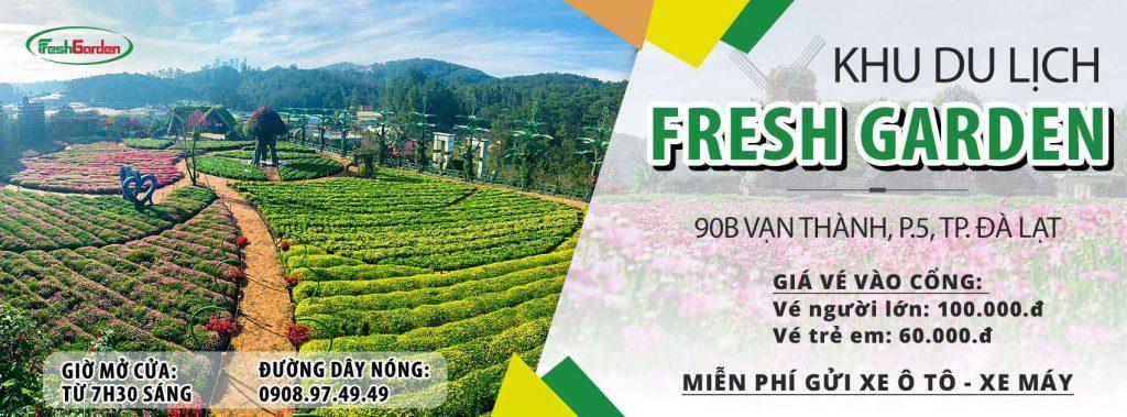 giá vé fresh garden
