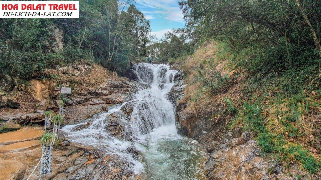 Hướng dẫn đường đi thác Datanla