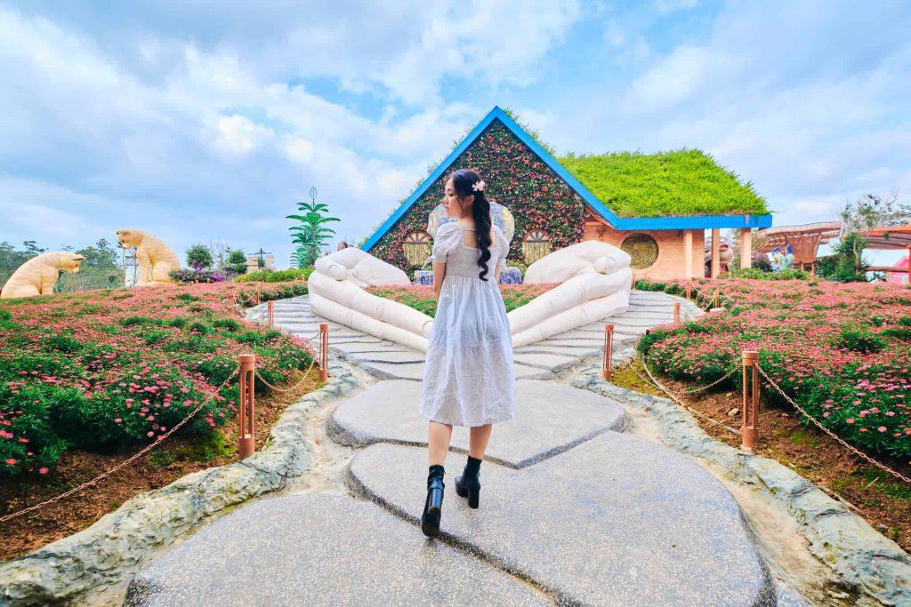 Khu du lịch fresh garden Đà Lạt