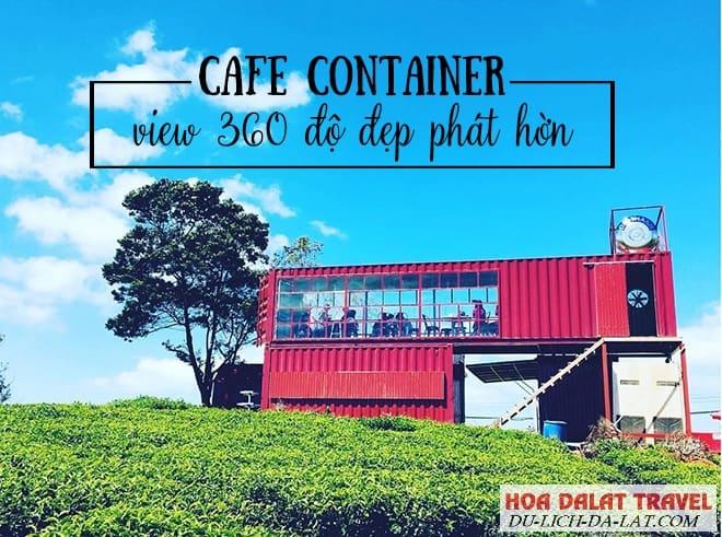 Quán cafe ở đồi chè Cầu Đất