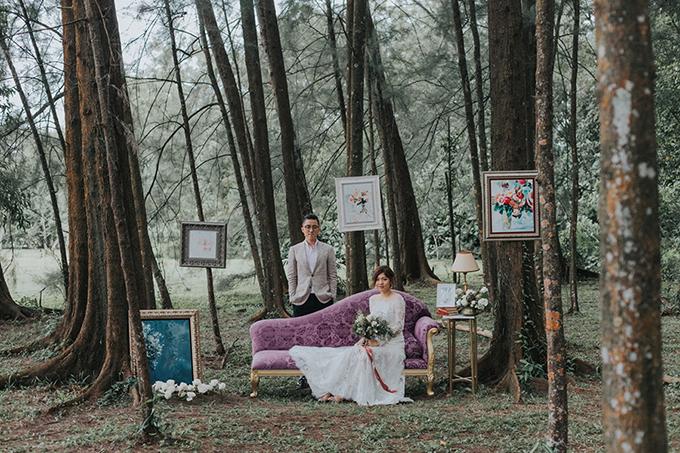 Chụp ảnh ở rừng thông Đà Lạt