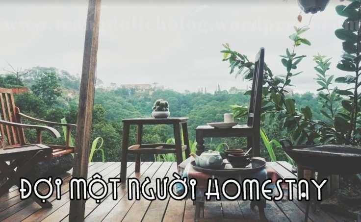 homestay đợi một người