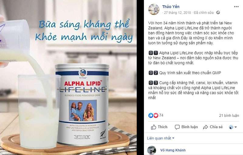 Mua sữa non alpha lipid ở đâu