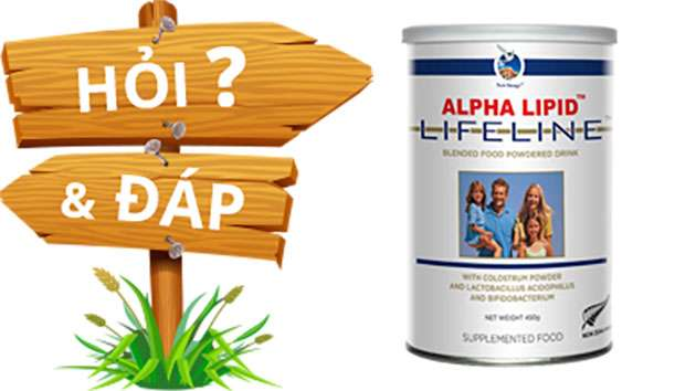 Những thắc mắc về sữa non alpha lipid