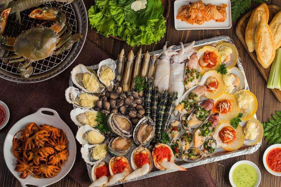 Quán hải sản bình dân