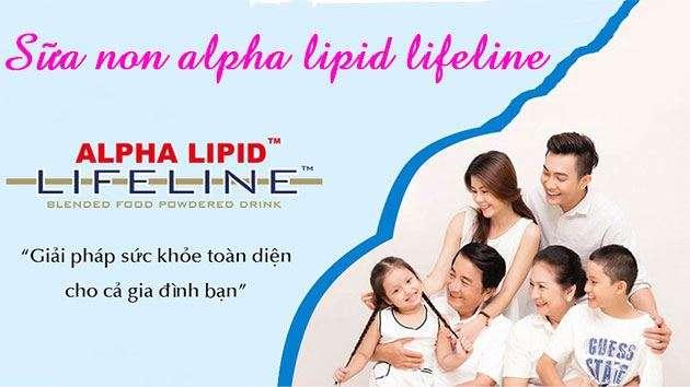 sữa alpha lipid lifeline có tốt không