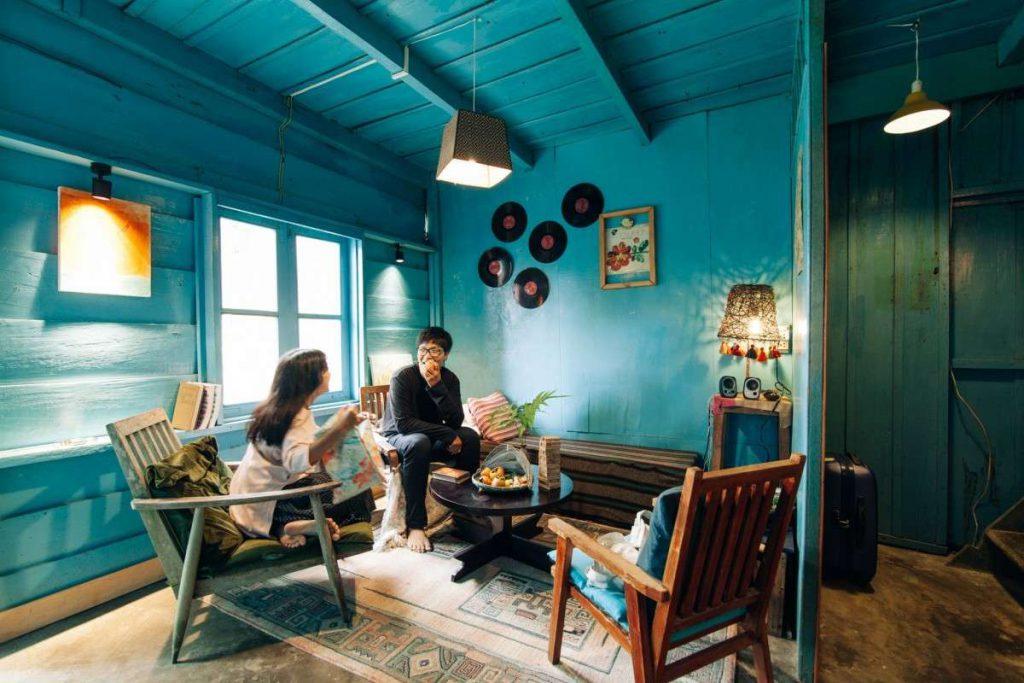 Không gian homestay Le Bleu Đà Lạt