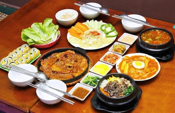Những món ăn hàn quốc