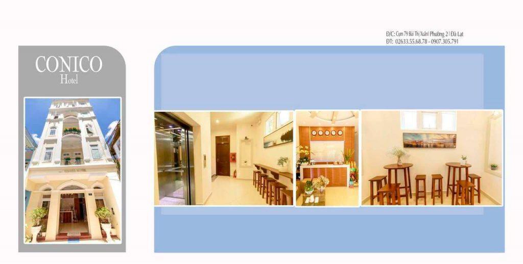 Khách sạn conico ở Đà Lạt