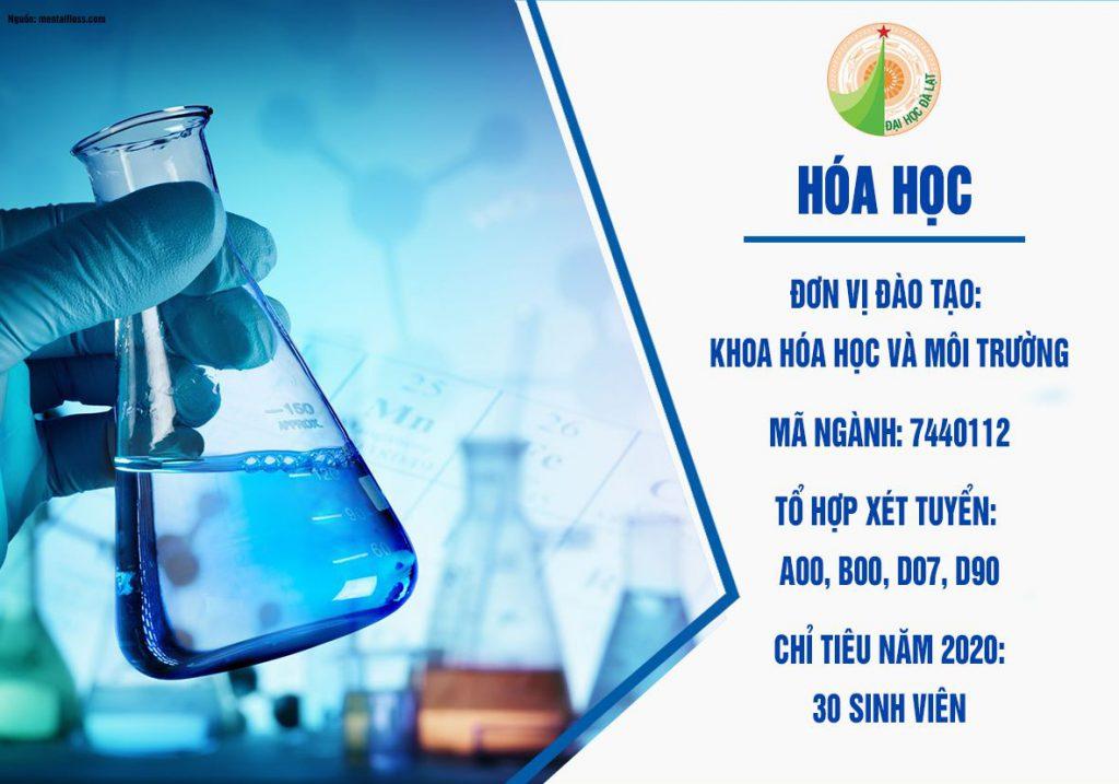 Ngành đào tạo hóa học