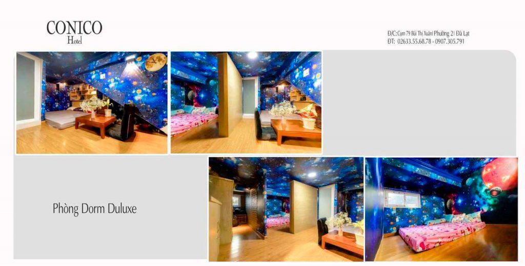 Phòng drom khách sạn conico