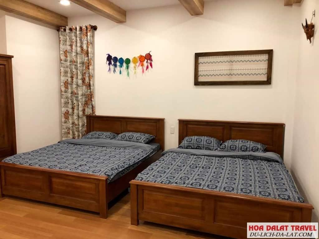 Hillside Villa Dalat- phòng