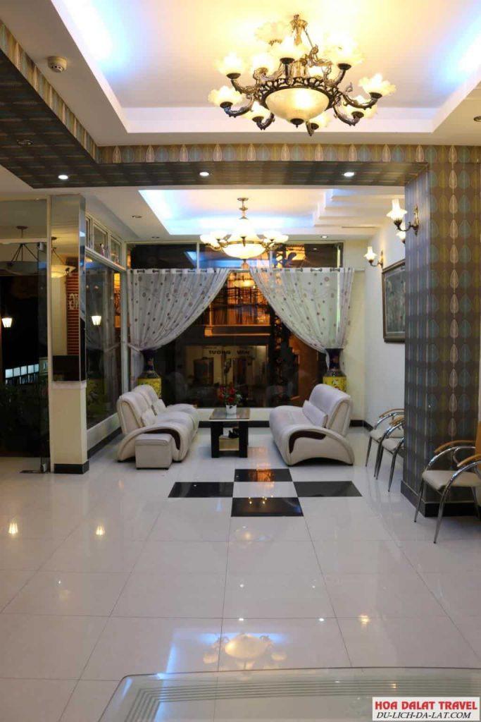 Khách sạn Anna Sương Đà Lạt- nội thất