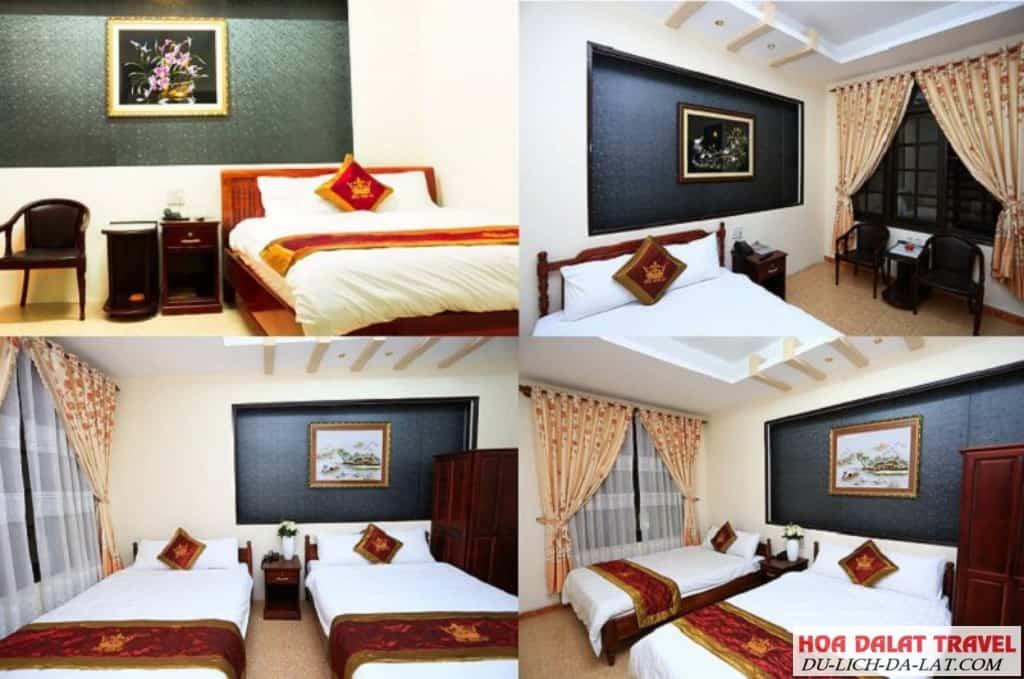 Khách sạn Hoàng Gia Đà Lạt- không gian