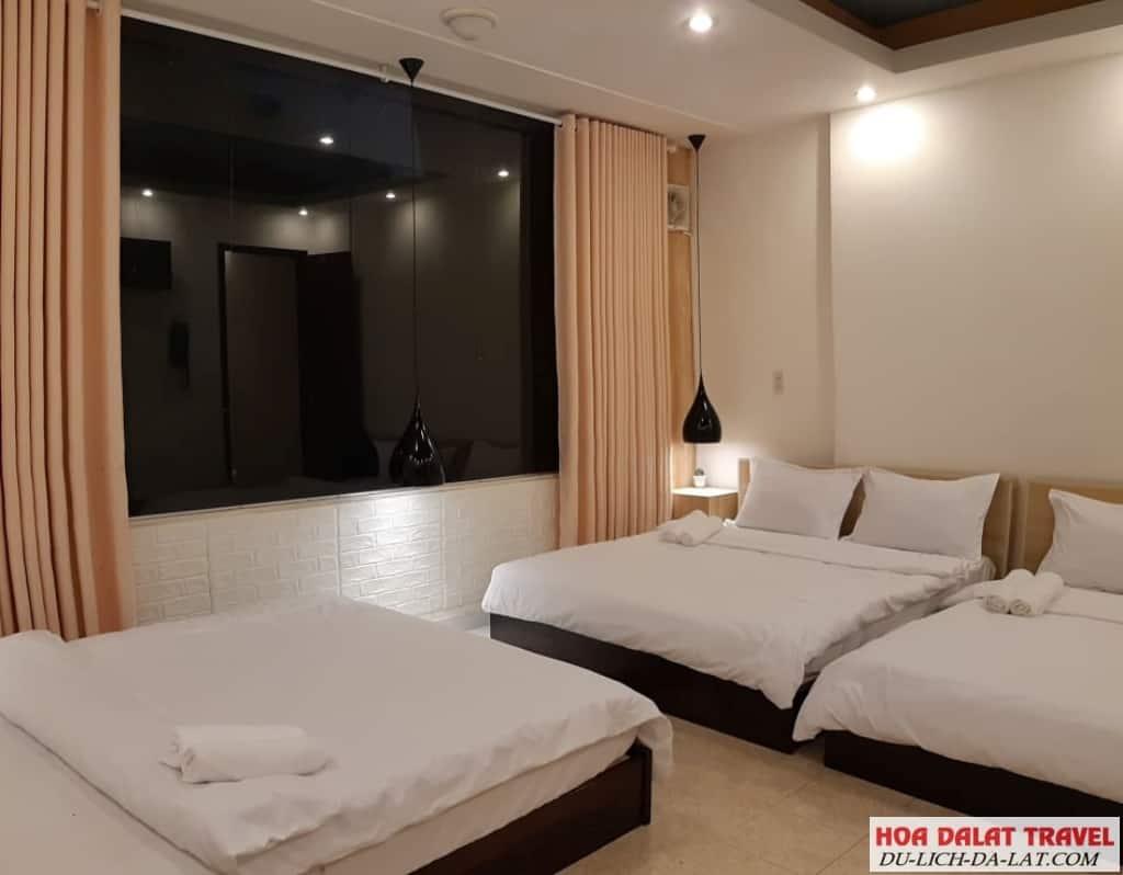 Khách sạn Hoàng Khôi Đà Lạt - không gian