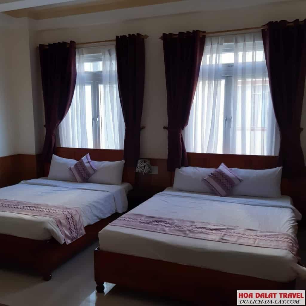 Khách sạn Vũ Hoàng Đà Lạt - phòng