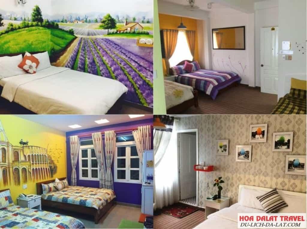 Review khách sạn Ken's house Backpackers Đà Lạt- phòng