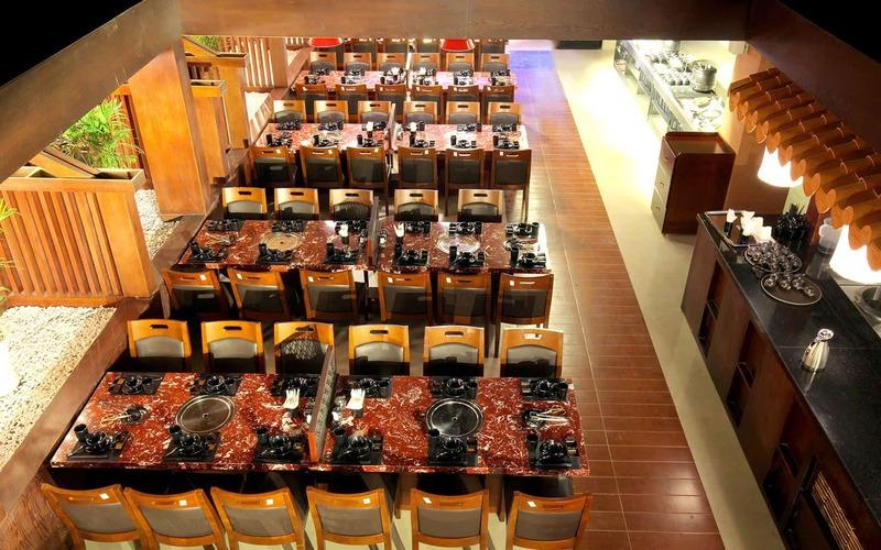 Không gian của nhà hàng