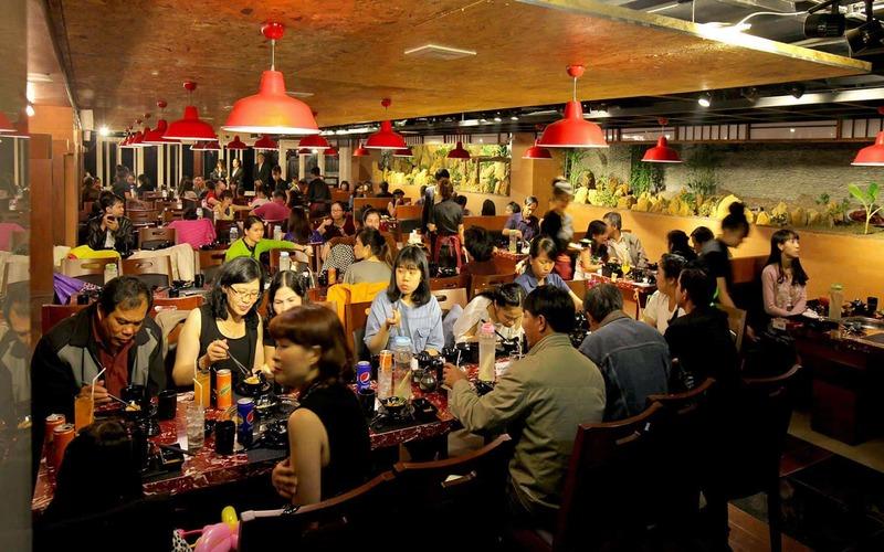 Khung cảnh nhà hàng Kings BBQ