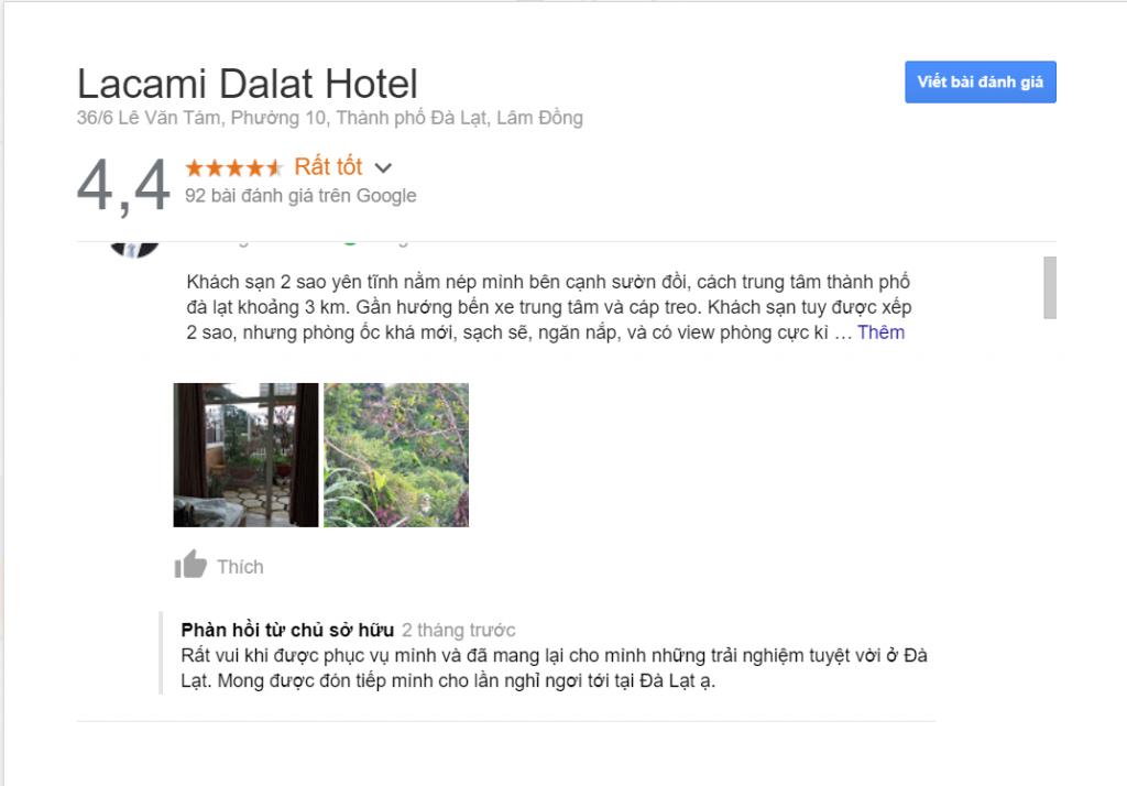 Review khách sạn Lacami Dalat Hotel