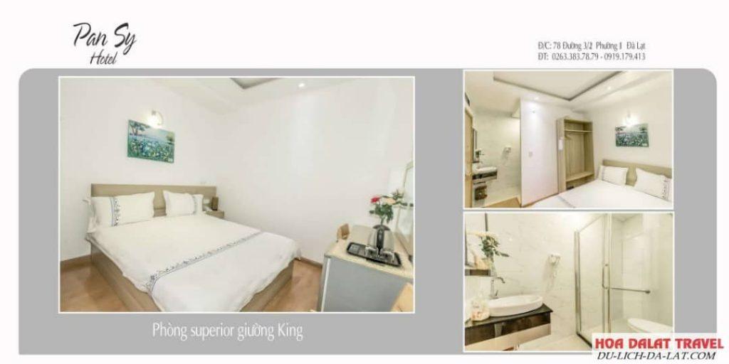 Hotel Pansy Đà Lạt- khách sạn