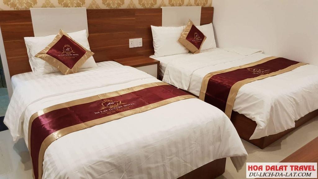 Khách sạn Đà Lạt Luxury - trong phòng