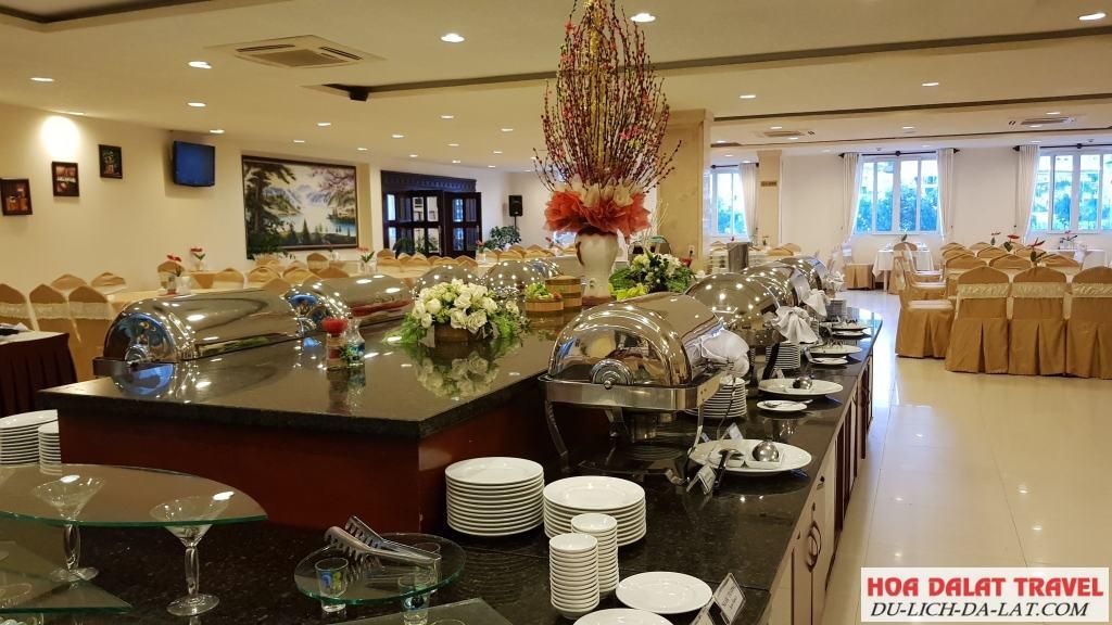 Khách sạn Dalat Plaza - sảnh