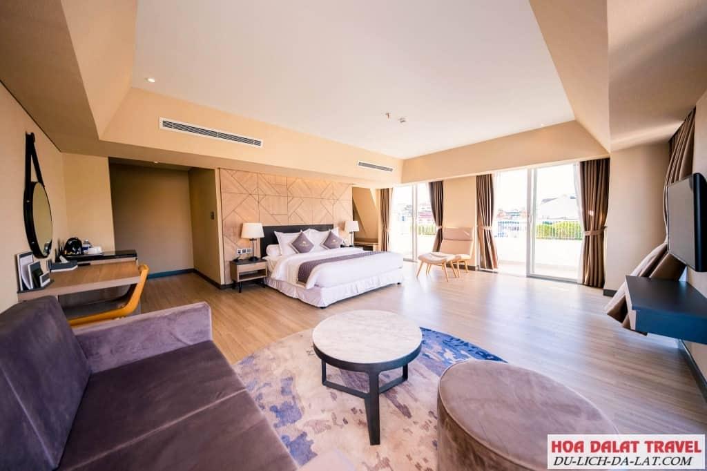 Khách sạn Golf Valley Đà Lạt - không gian phòng