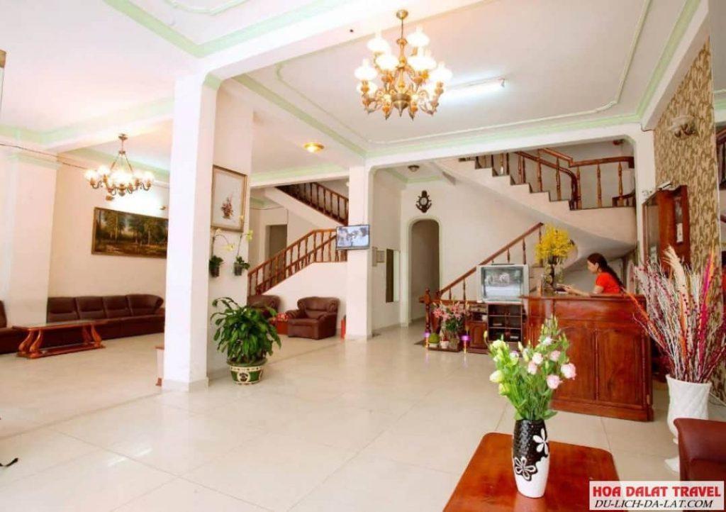 Khách sạn Hải Uyên- bên trong