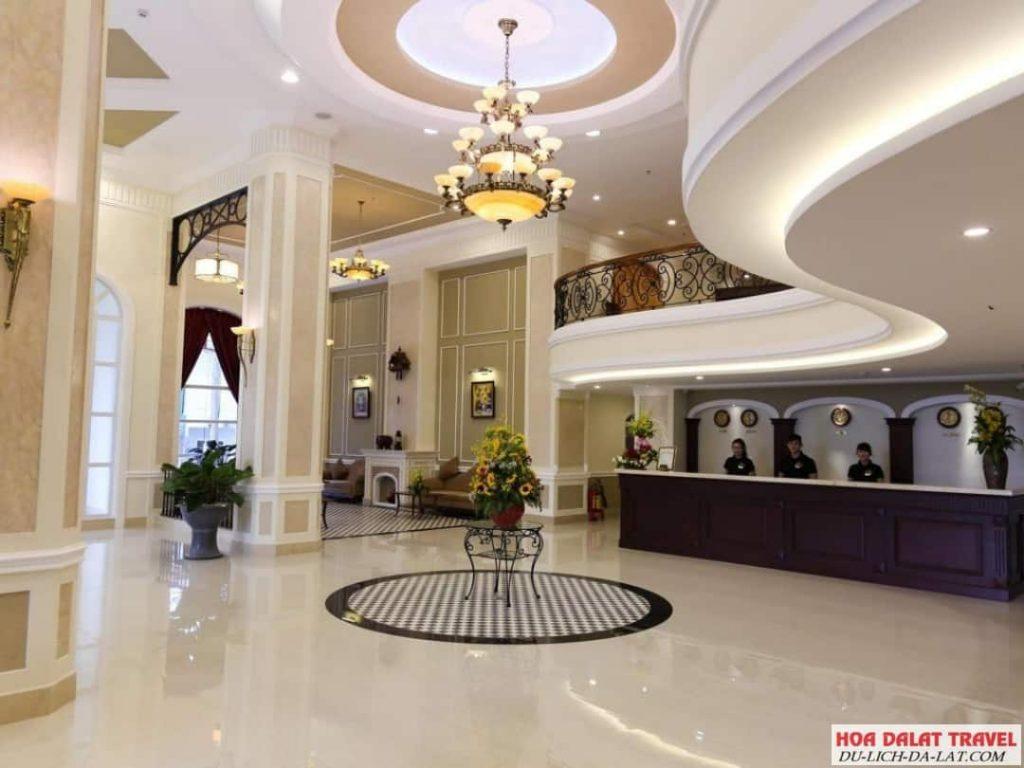 Khách sạn Iris Đà Lạt- không gian sang chảnh