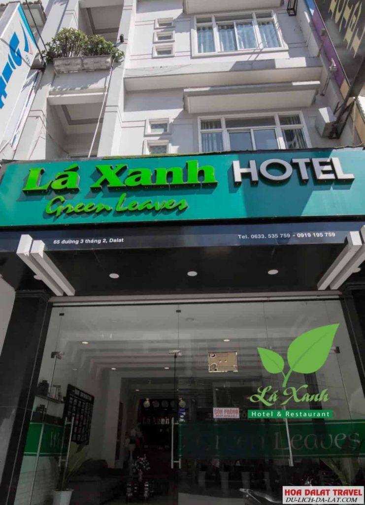 Khách sạn Lá Xanh Đà Lạt