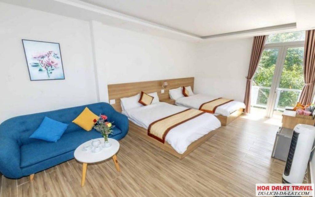 Khách sạn Lacami Đà Lạt- không gian phòng