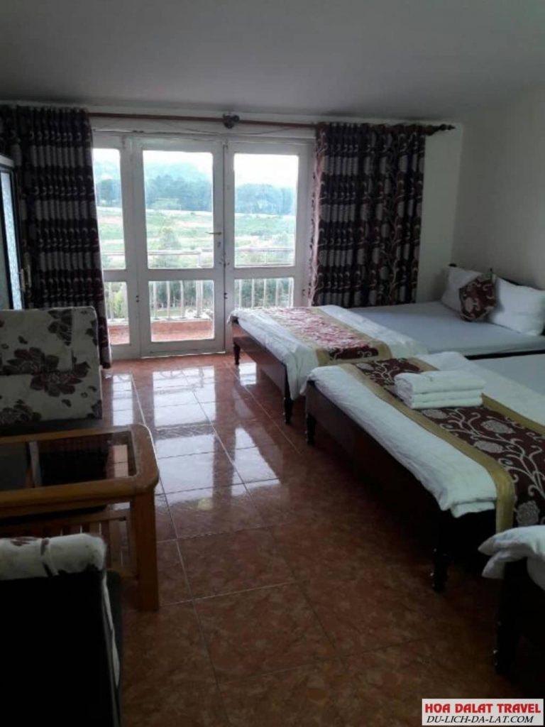 Khách sạn M&T Đà Lạt - không gian phòng