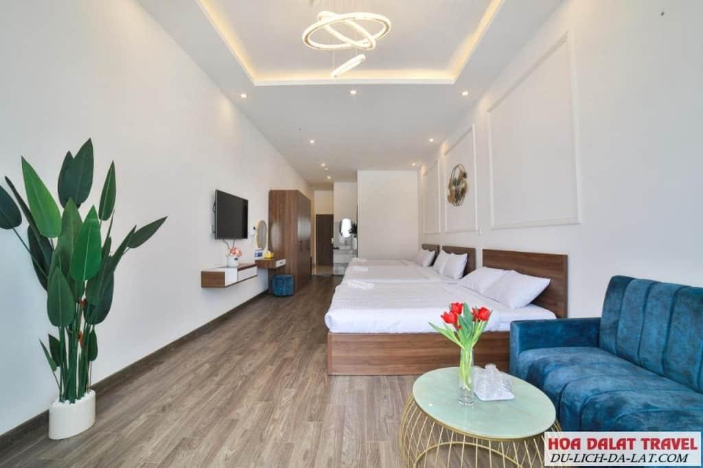 Khách sạn Phạm Gia Đà Lạt - phòng