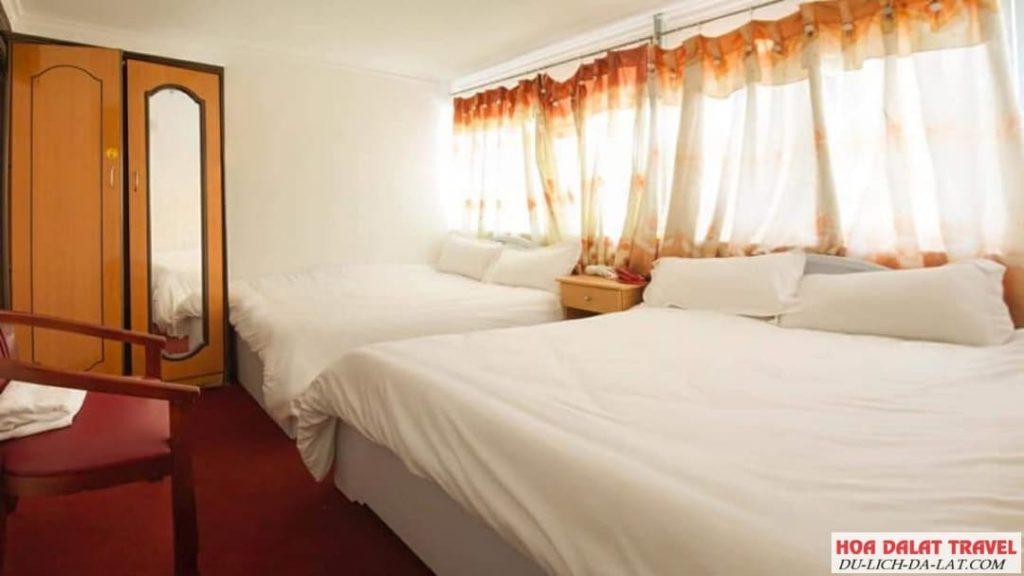Khách sạn Rani Star Đà Lạt- phòng ngủ