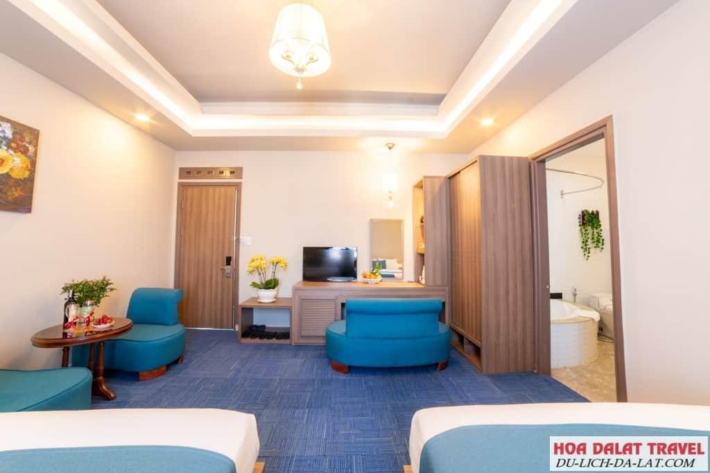 Khách sạn Rum Vàng - không gian
