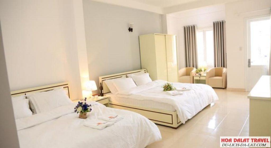 Khách sạn gần chợ Đà Lạt 2021