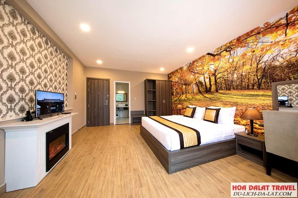 Khu nghỉ dưỡng Dalat Wonder Resort - phòng