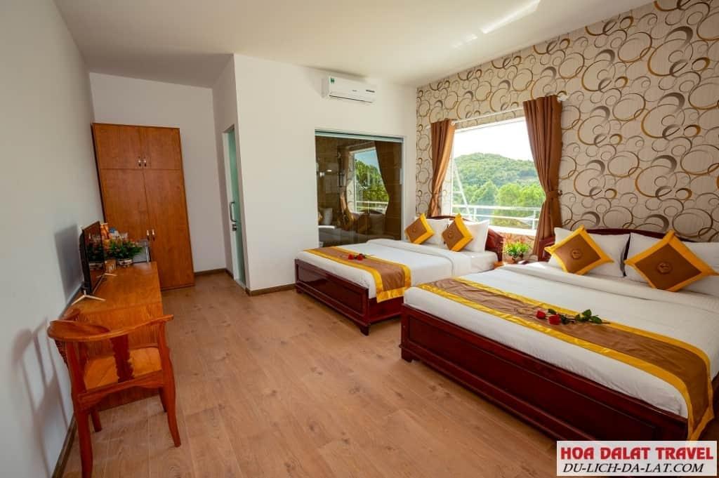 Phòng ở khách sạn Đà Lạt