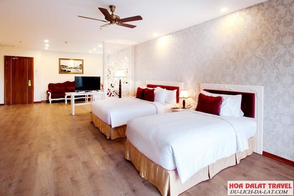 Review khách sạn 5 sao đẳng cấp sang trọng ở Đà Lạt