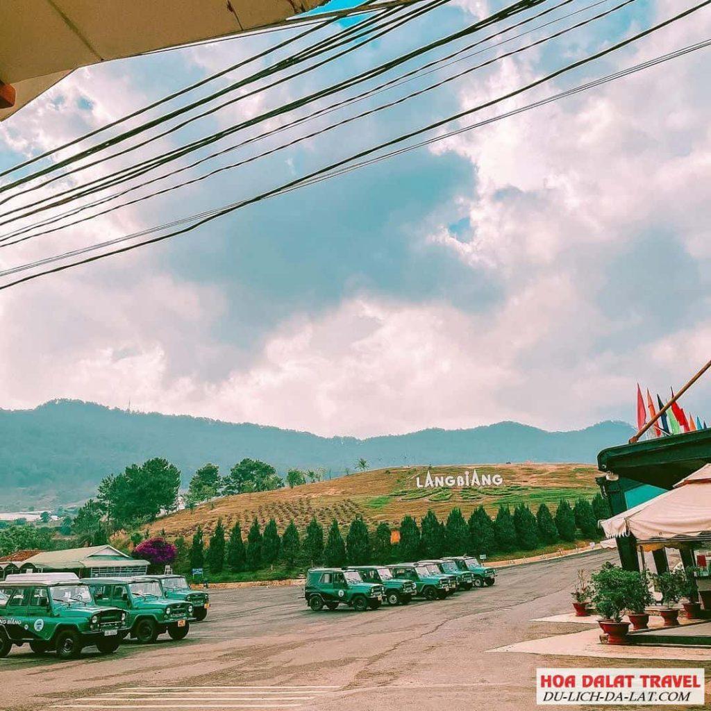 Một góc ở Chân núi Langbiang Đà Lạt