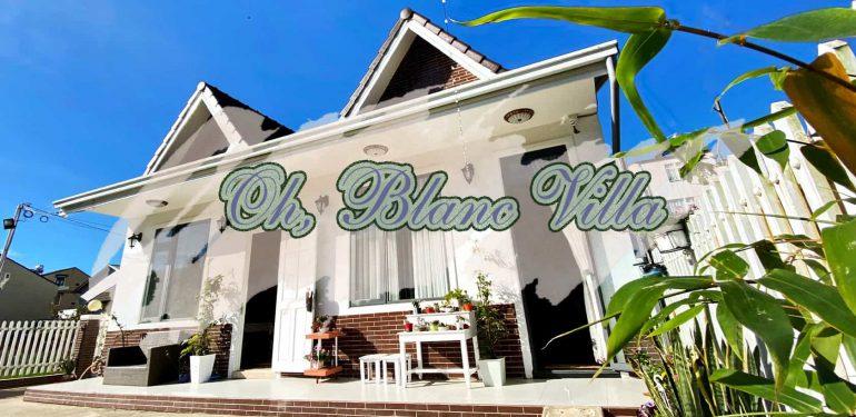 Oh, Blanc Villa